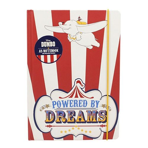 Disney Dumbo Powered By Dreams A5 Notebook Note Pad